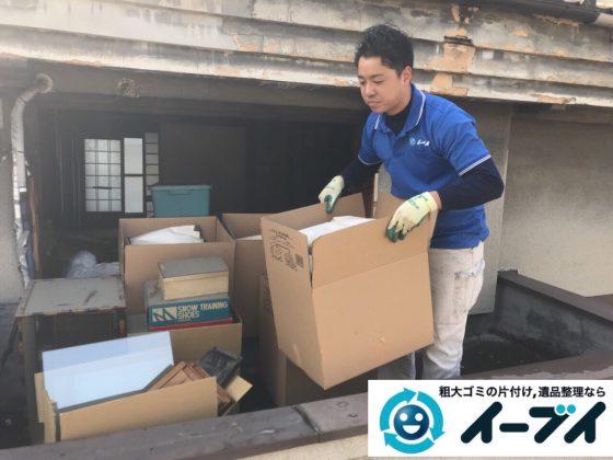 2018年6月25日大阪府大阪市西淀川区で押入れの布団やチェストなど粗大ゴミの不用品回収をしました。写真1