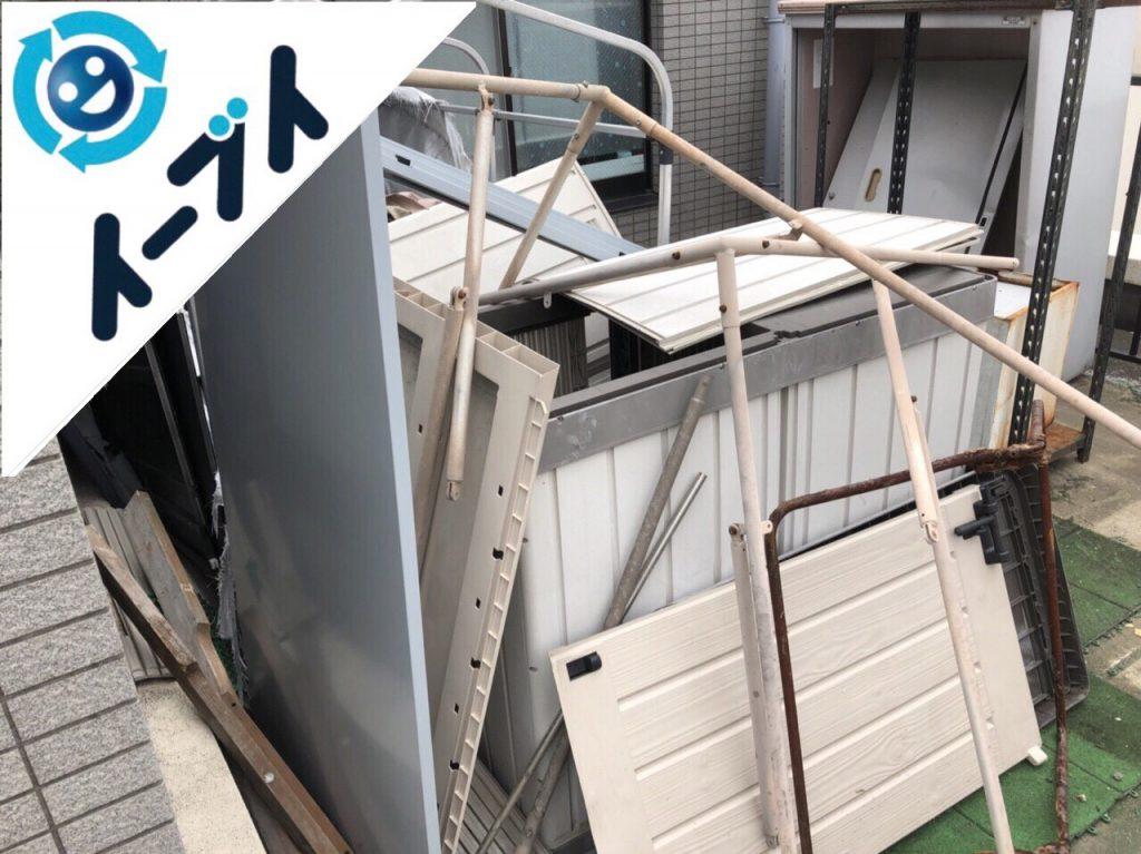 2018年6月7日【後編】大阪府吹田市でベランダのキャンプ用品や廃品の不用品回収。写真4