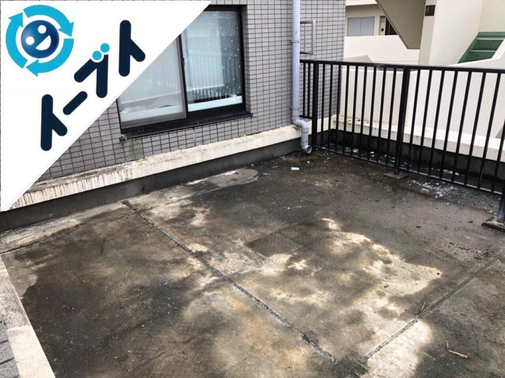 2018年6月7日【後編】大阪府吹田市でベランダのキャンプ用品や廃品の不用品回収。写真3