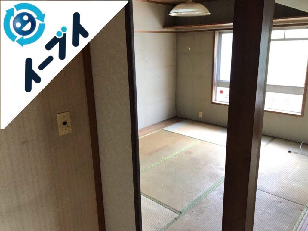 2018年7月1日大阪府東大阪市でゴミ屋敷の生活ゴミや日用品などの片付け処分をしました。写真3