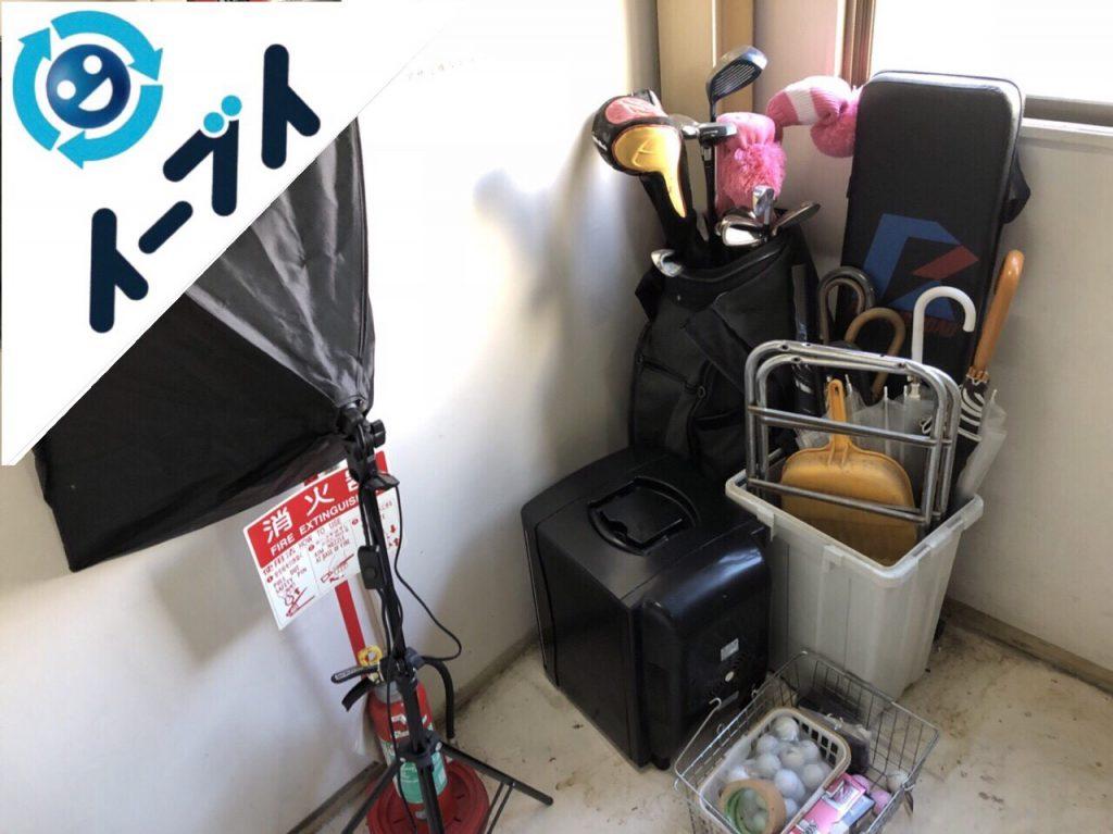 2018年6月4日大阪府高槻市で店舗閉店に伴いソファなど粗大ゴミの不用品回収をしました。写真4