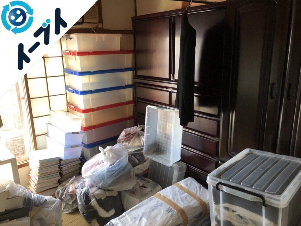 2018年6月28日大阪府守口市で引越しに伴い婚礼家具や生活用品などの不用品を処分しました。写真4