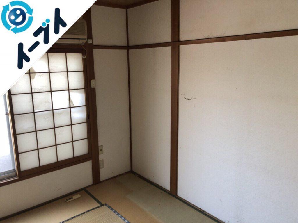 2018年6月28日大阪府守口市で引越しに伴い婚礼家具や生活用品などの不用品を処分しました。写真3