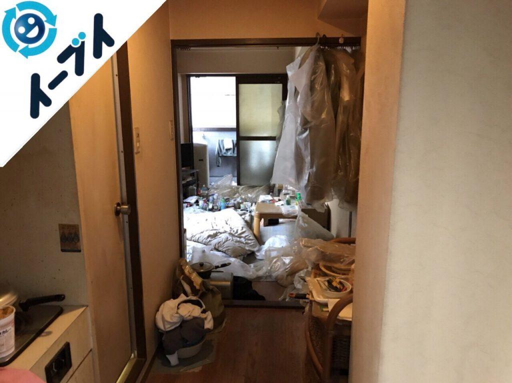 2018年6月19日大阪府池田市で布団や生活用品の粗大ゴミの不用品回収をしました。写真4