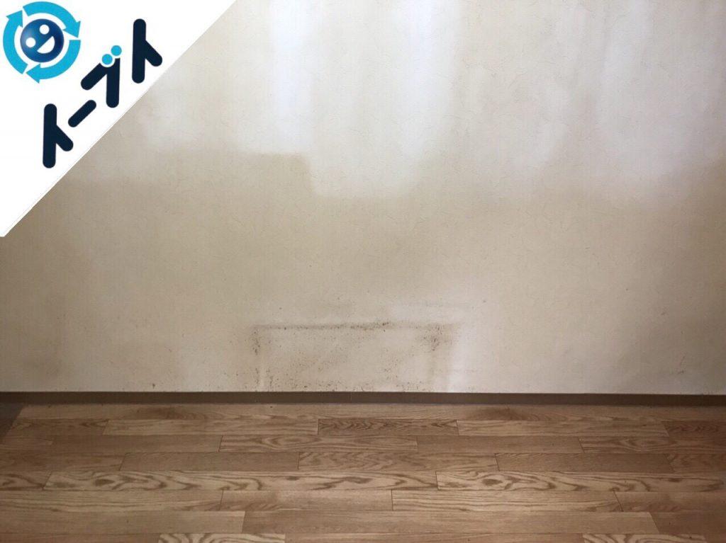 2018年6月16日大阪府交野市で長年放置された部屋の粗大ゴミなど不用品回収。写真3