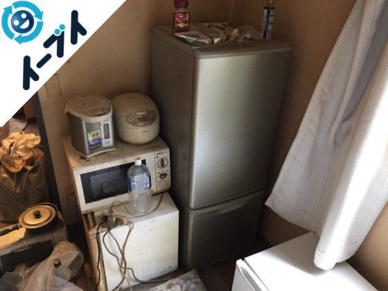 2018年7月3日大阪府守口市で水周りの片付けと冷蔵庫などの不用品の処分をしました。写真3