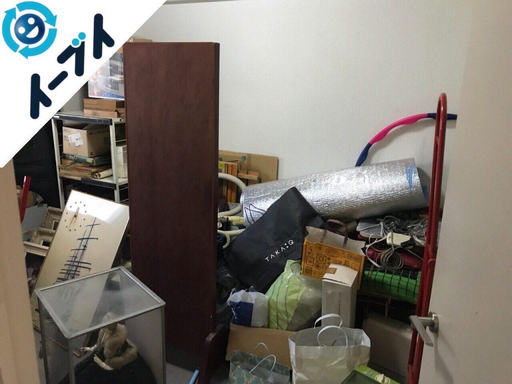 2018年6月22日大阪府堺市北区で家具やストーブなどの粗大ゴミの不用品回収をしました。写真2
