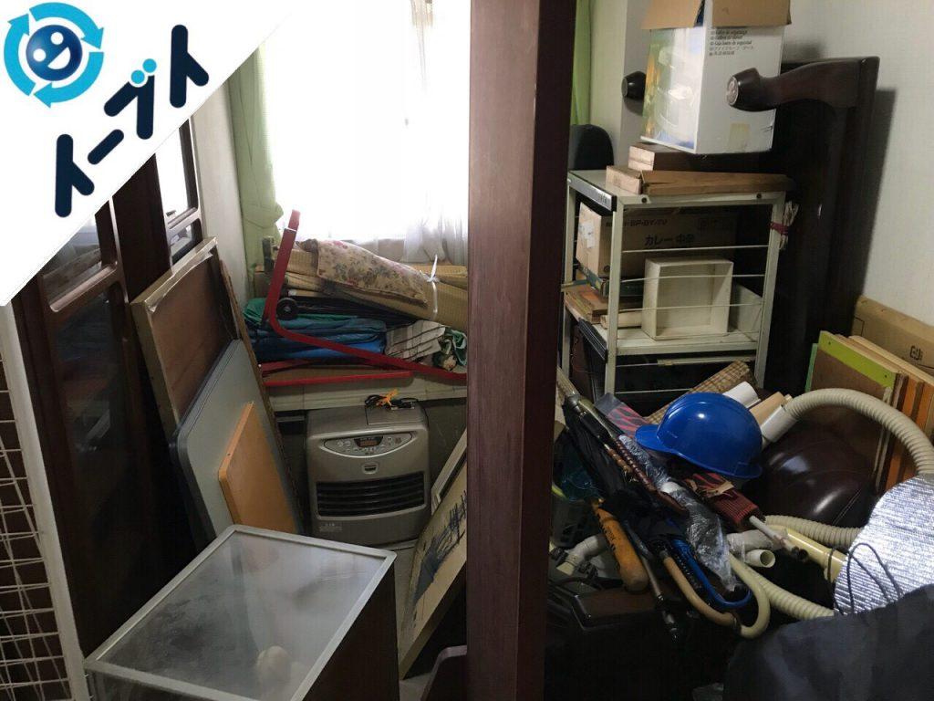 2018年6月22日大阪府堺市北区で家具やストーブなどの粗大ゴミの不用品回収をしました。写真4