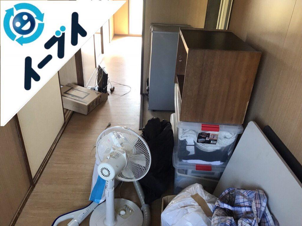 2018年7月10日大阪府門真市で引越しに伴い冷蔵庫や家具などの不用品処分の依頼がありました。写真3