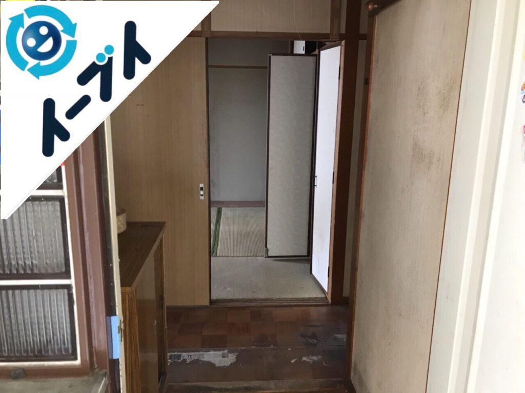 2018年8月18日大阪府大阪市東成区でゴミ屋敷の溜め込まれた生活用品の片付けをしました。写真3