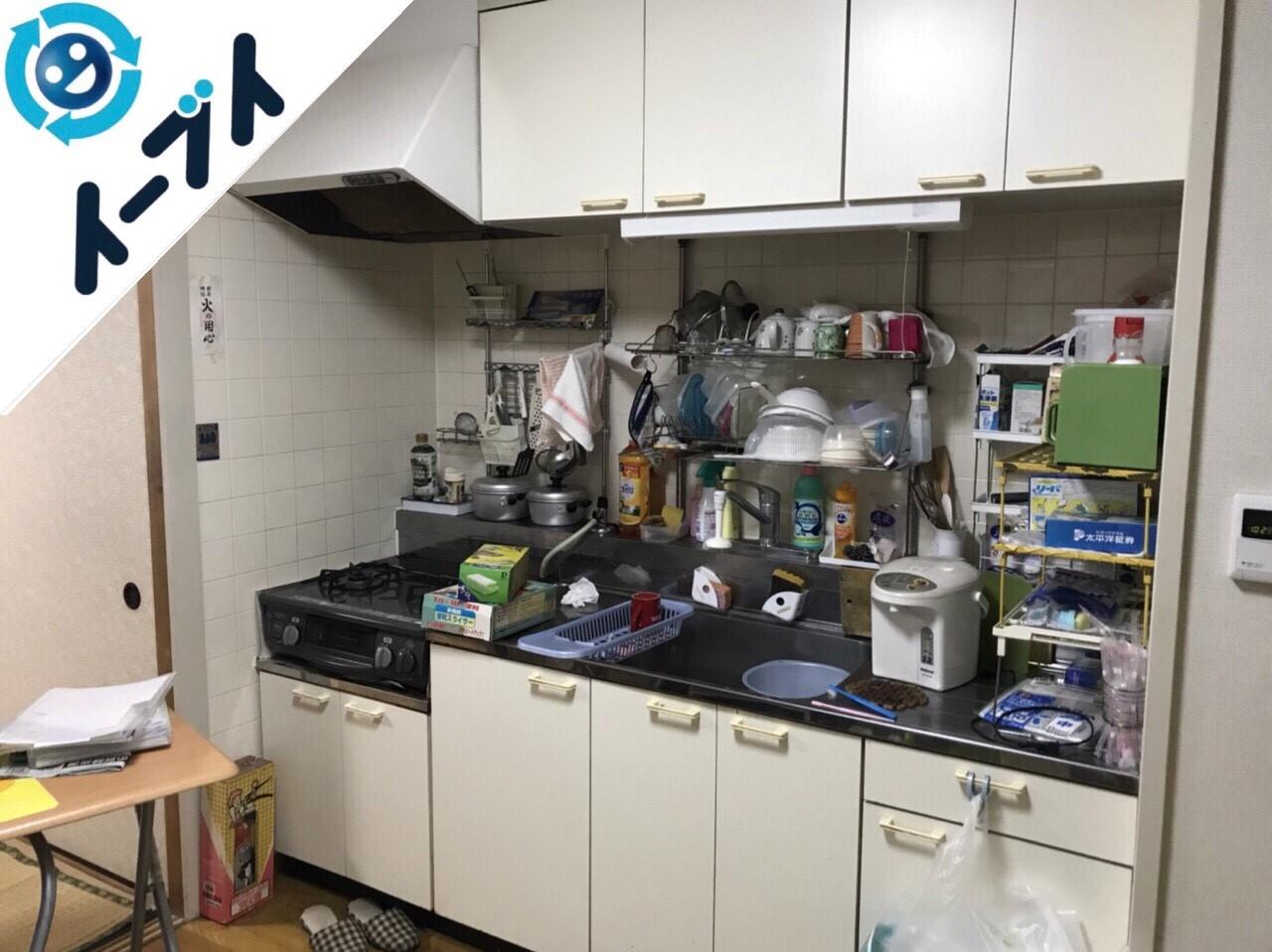 2018年7月9日大阪府東大阪市で台所のキッチン道具などの不用品を片付け処分をしました。写真5