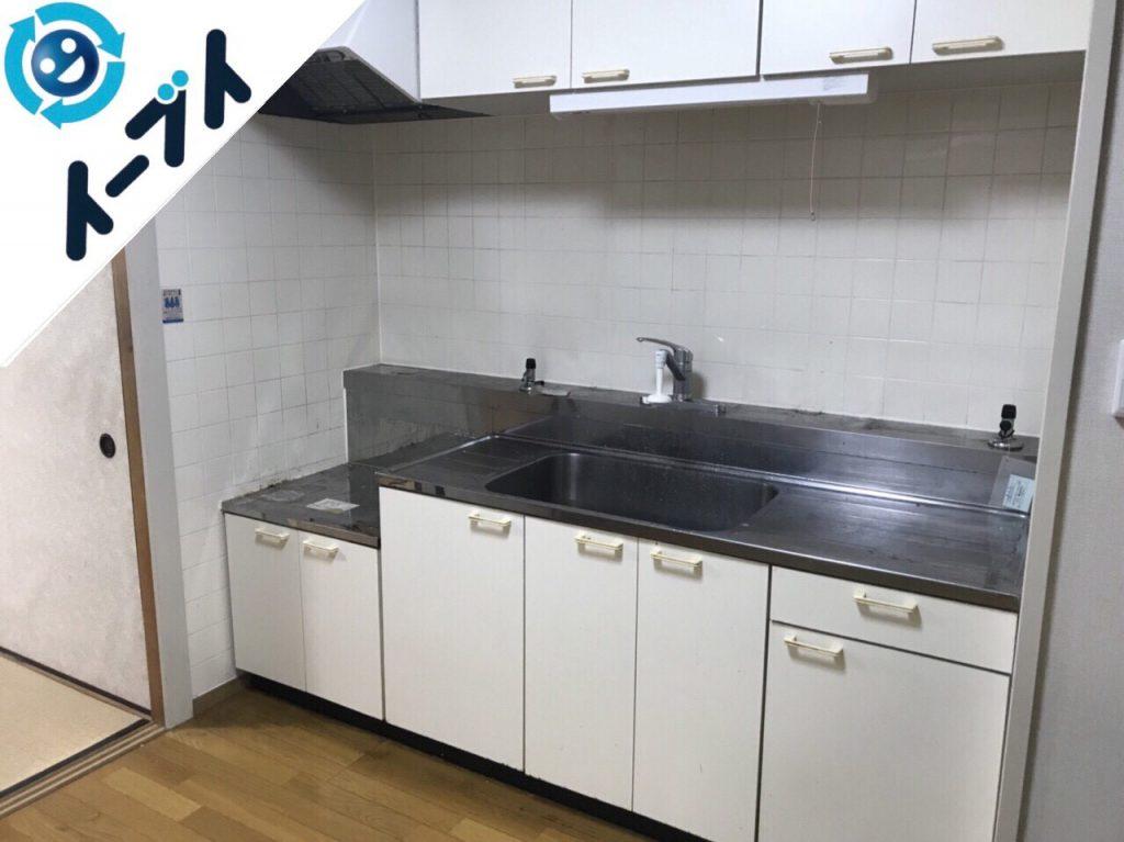 2018年7月9日大阪府東大阪市で台所のキッチン道具などの不用品を片付け処分をしました。写真4