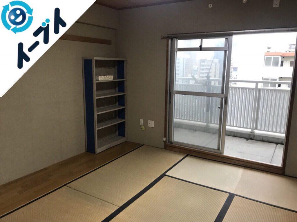 2018年7月7日大阪府門真市で日用品やベッドなどの不用品片付け処分をしました。写真3
