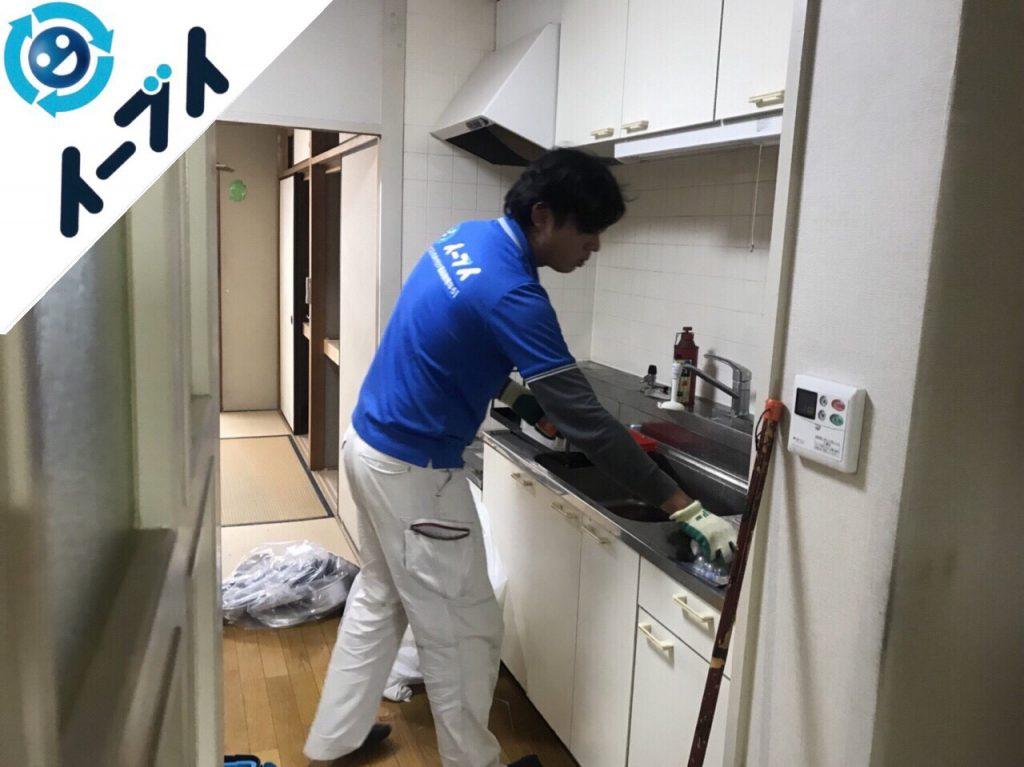 2018年7月9日大阪府東大阪市で台所のキッチン道具などの不用品を片付け処分をしました。写真1