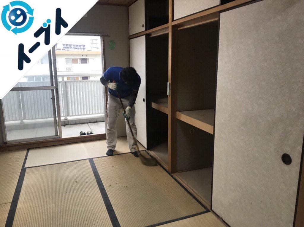 2018年8月23日大阪府大阪市福島区で洗濯機や和ダンスなど家具処分や粗大ゴミの処分。写真1