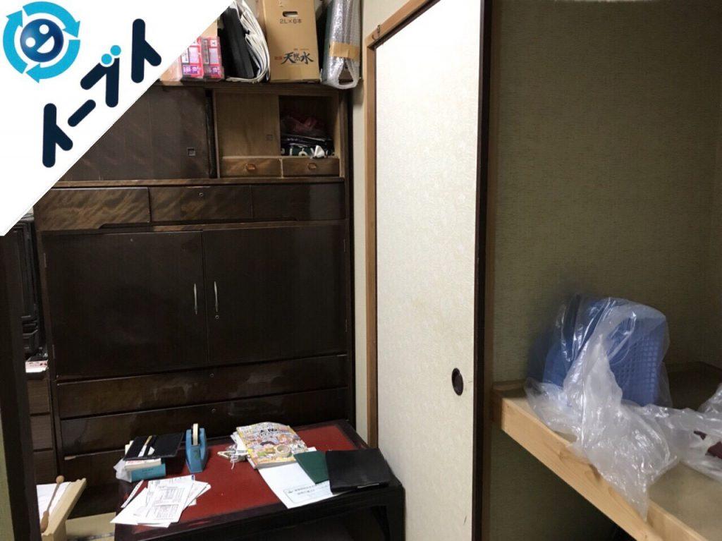2018年7月30日大阪府大阪市住之江区で仏壇や家財道具の粗大ゴミの片付けや処分依頼。写真2