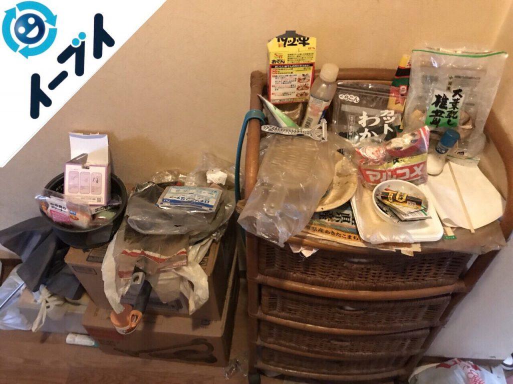 2018年7月13日大阪府寝屋川市で生活ゴミや日用品などの不用品処分の依頼を頂きました。写真6