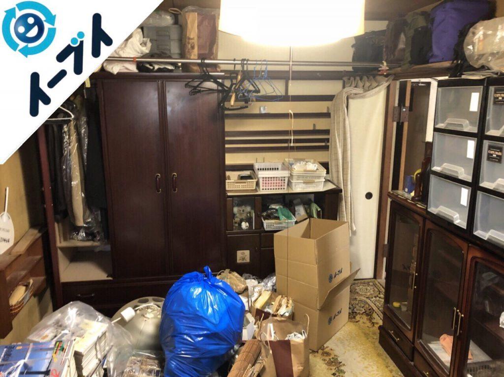 2018年8月27日大阪府大阪市北区で婚礼家具や和ダンスなど家具処分や粗大ゴミの片付け。写真4
