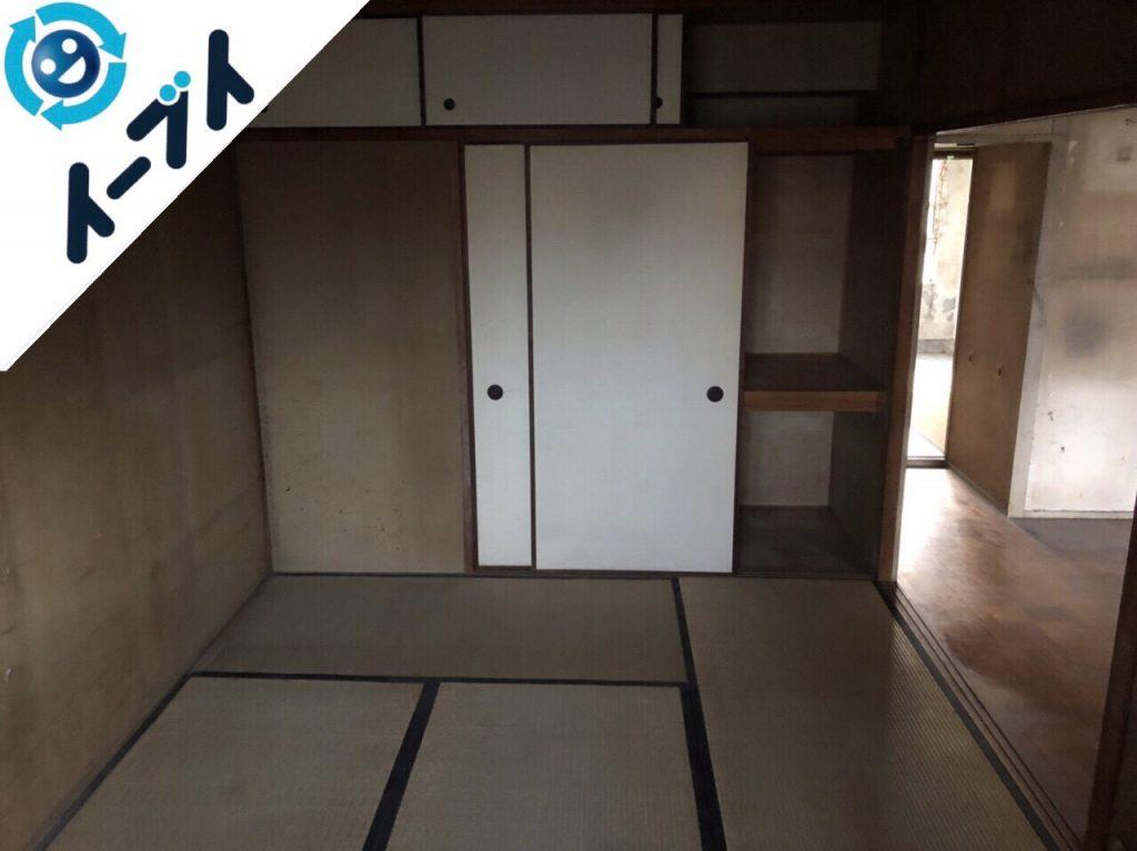2018年8月27日大阪府大阪市北区で婚礼家具や和ダンスなど家具処分や粗大ゴミの片付け。写真3