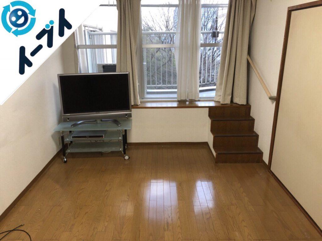 2018年7月27日大阪府大阪市住吉区でスーツケースや細かな粗大ゴミや家具処分をしました。写真4