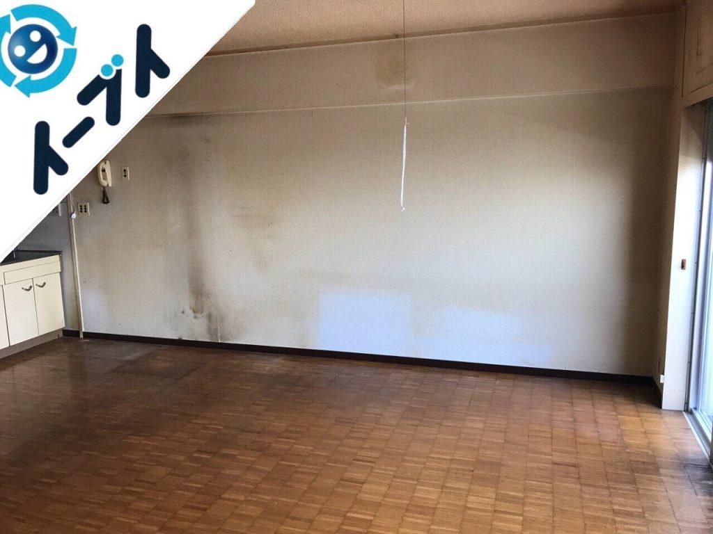 2018年7月19日大阪府大阪市旭区でマンション売却のため家具や残置物の不用品回収をしました。写真3