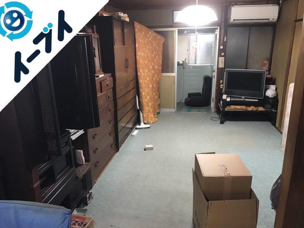 2018年8月12日大阪府大阪市鶴見区で仏壇(合同供養)と婚礼家具の不用品回収をしました。写真4