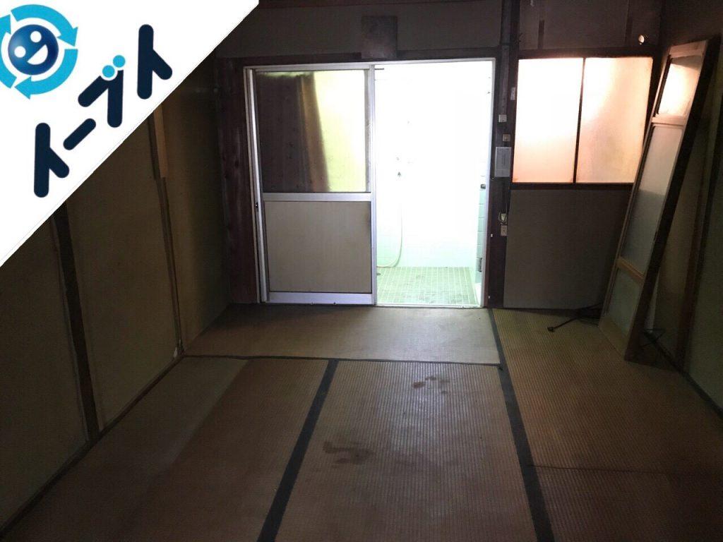 2018年8月12日大阪府大阪市鶴見区で仏壇(合同供養)と婚礼家具の不用品回収をしました。写真3