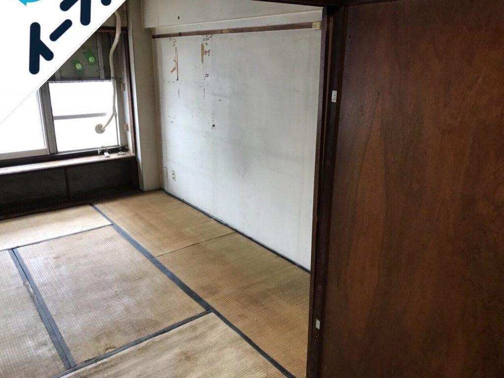 2018年8月17日大阪府大阪市東住吉区で婚礼家具や液晶テレビなど粗大ゴミの不用品回収をしました。写真3