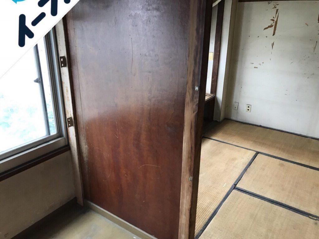 2018年7月22日大阪府堺市東区で本棚や衣装ケースなど家具処分や不用品回収をしました。写真1