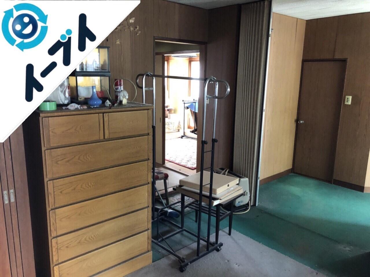 2018年8月14日大阪府大阪市天王寺区でストーブや家具の粗大ゴミの不用品回収をしました。写真1