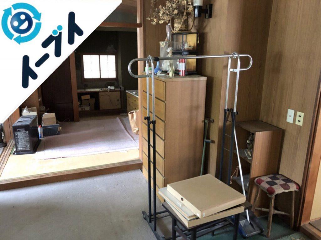 2018年8月14日大阪府大阪市天王寺区でストーブや家具の粗大ゴミの不用品回収をしました。写真3