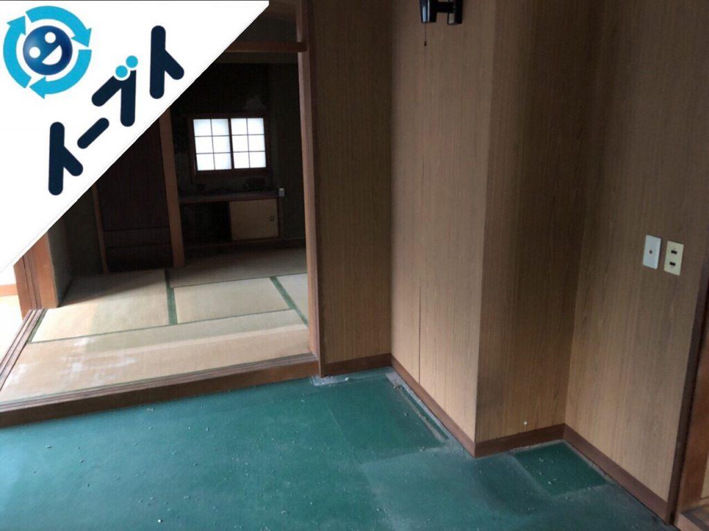 2018年8月14日大阪府大阪市天王寺区でストーブや家具の粗大ゴミの不用品回収をしました。写真2