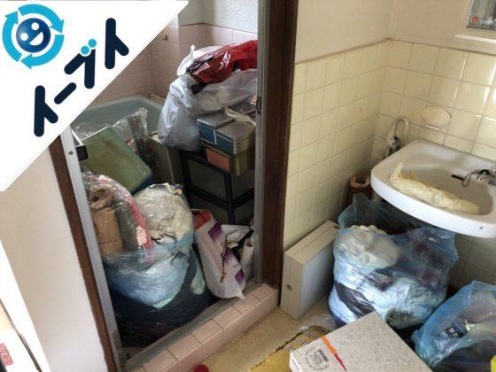 2018年7月25日大阪府大阪市港区で引越しゴミや雑ゴミや粗大ゴミの不用品回収をしました。写真4