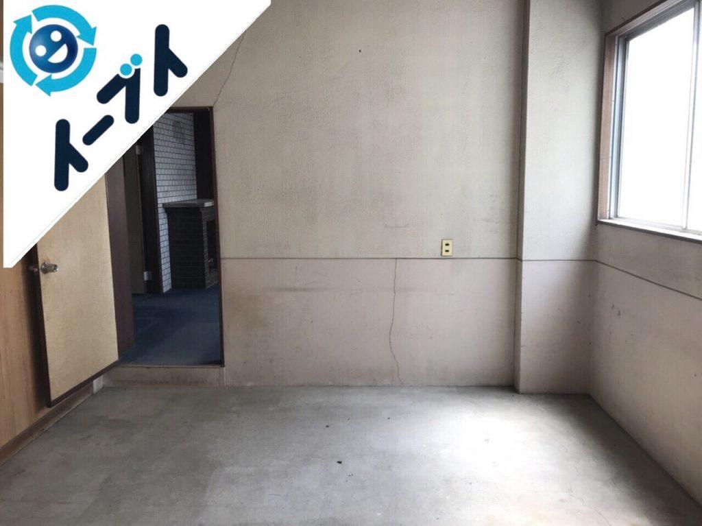 2018年8月11日大阪府大阪市中央区で店舗のローテーブルや黒板など細かな粗大ゴミの不用品回収をしました。写真3