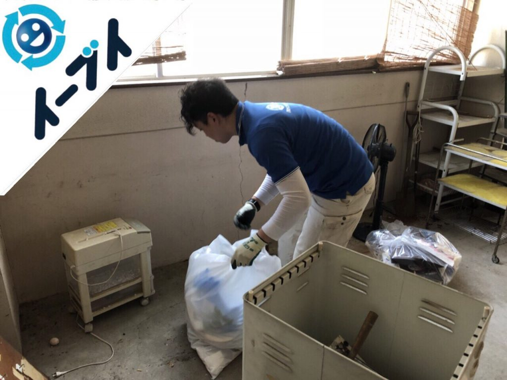 2018年8月11日大阪府大阪市中央区で店舗のローテーブルや黒板など細かな粗大ゴミの不用品回収をしました。写真5