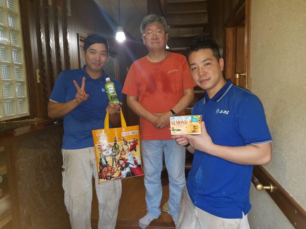 大阪府枚方市のお客様より家の売却に伴い家財道具や生活用品の処分でイーブイをご利用頂きました。