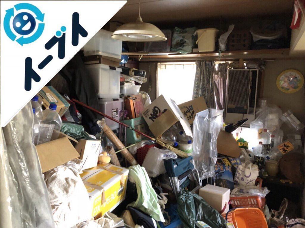 2018年8月30日大阪府高石市でゴミ屋敷の片付け作業をしました。写真4