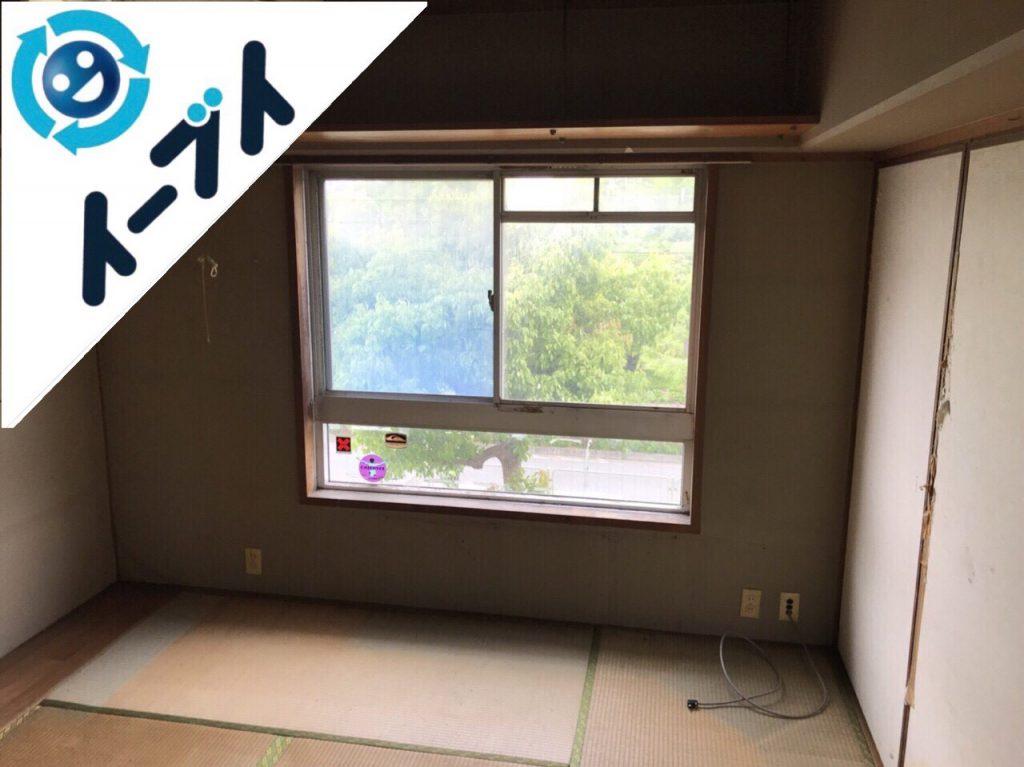 2018年8月30日大阪府高石市でゴミ屋敷の片付け作業をしました。写真3