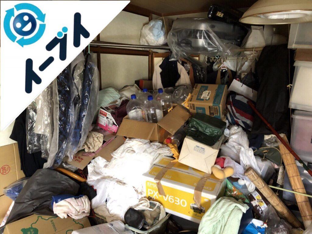 2018年8月30日大阪府高石市でゴミ屋敷の片付け作業をしました。写真2