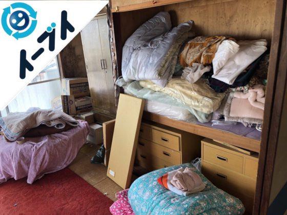2018年8月31日大阪府堺市西区で引越しゴミや布団や絨毯など粗大ゴミの不用品回収。写真4