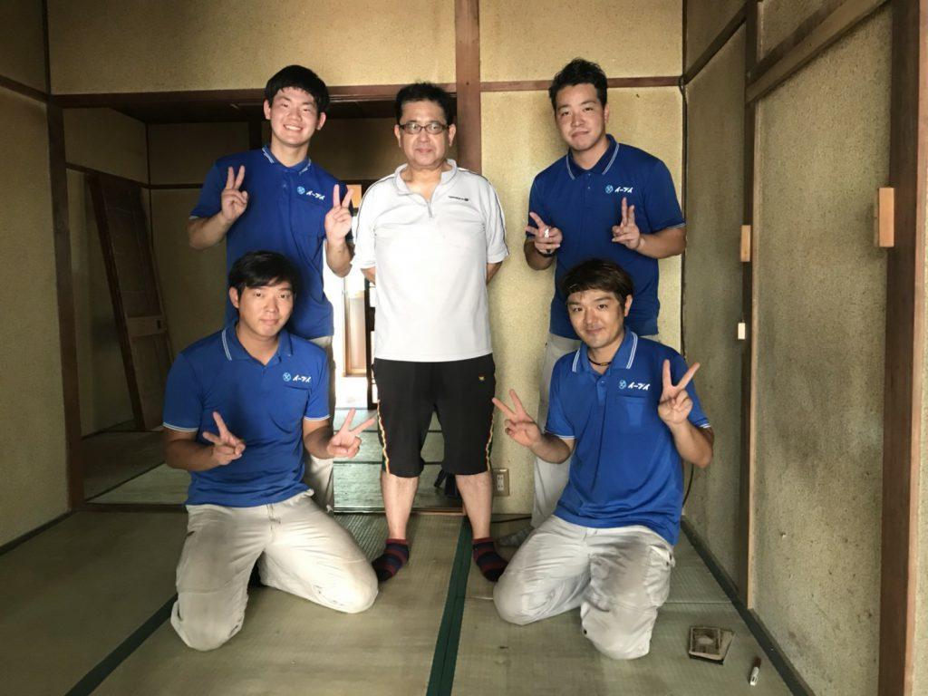 2018年9月1日大阪府松原市のお客様より空家の物を全て処分してほしいとの事で弊社をご利用頂きました。