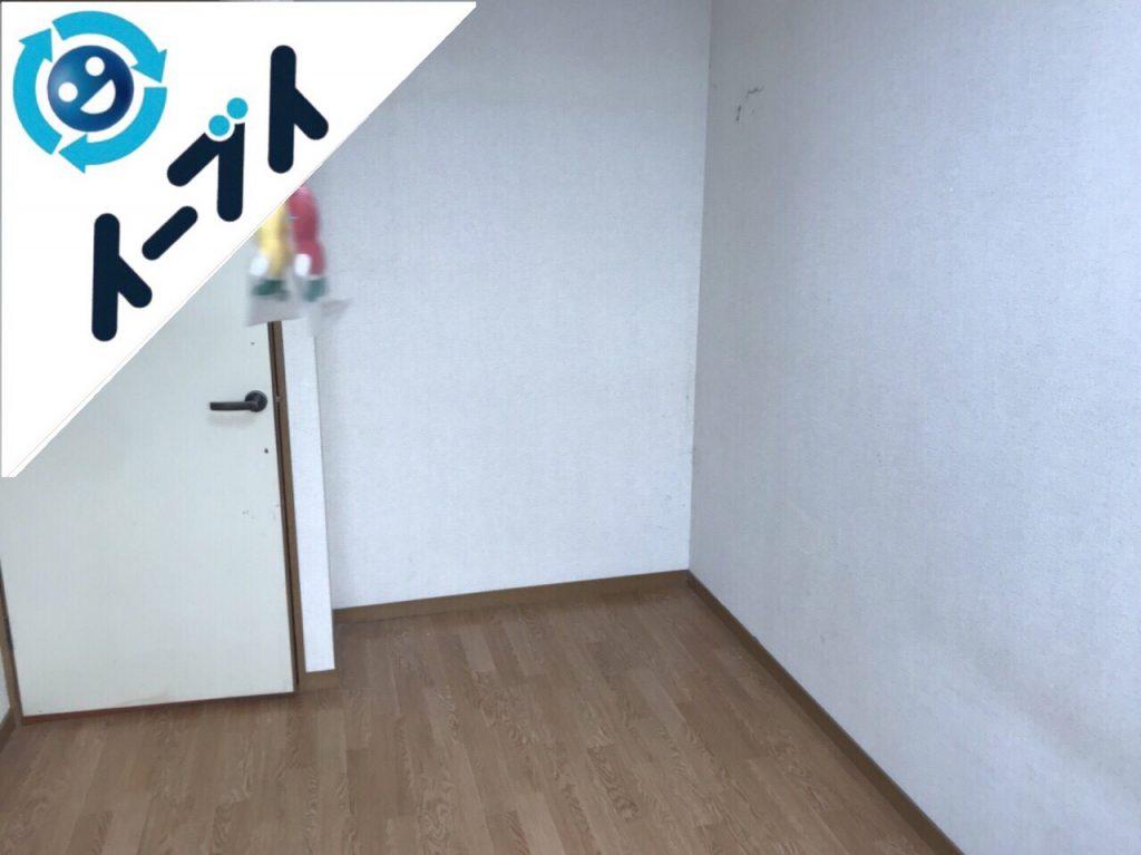 2018年9月26日大阪府八尾市で荷物が散乱したゴミ屋敷手前のお部屋の片付け。写真1