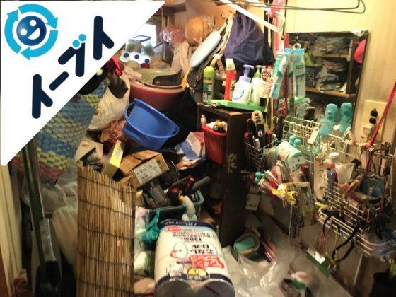 2018年9月11日大阪府守口市で物が溢れたゴミ屋敷状態の汚部屋の片付け。写真4