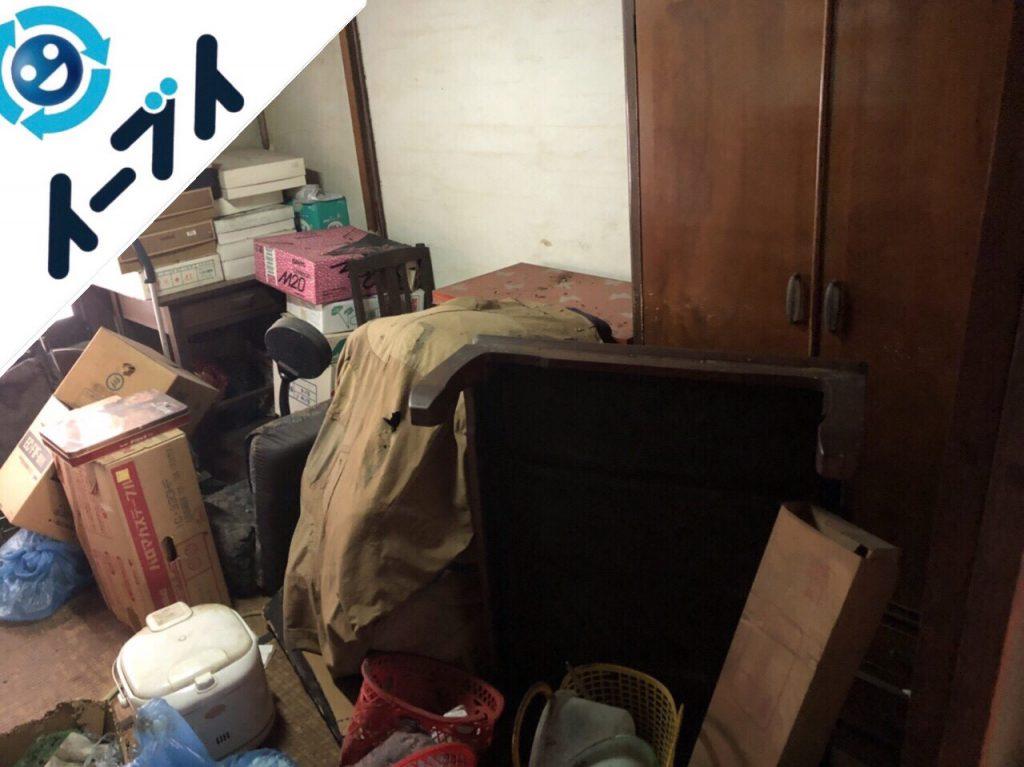 2018年9月23日大阪府岬町で空き家整理に伴い家具処分や生活ゴミのかたづけをしました。写真4
