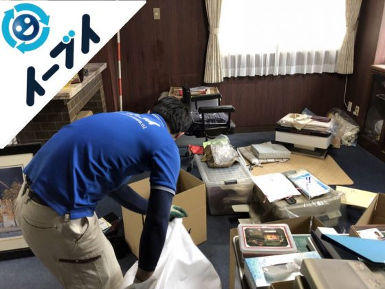 2018年9月12日大阪府泉佐野市で事務用品や家具処分と不用品回収。写真5