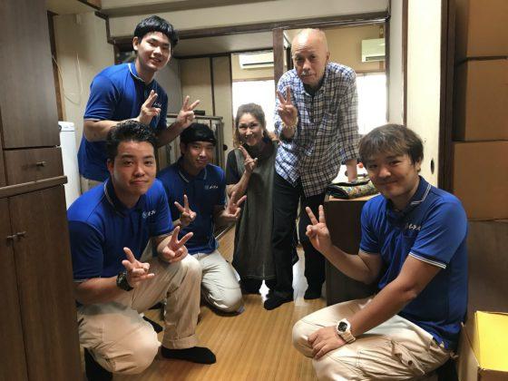 2018年9月19日大阪府大阪市港区のお客様よりお部屋1室の処分と処分したお部屋への引越をしたいとの事でご依頼頂きました。写真1