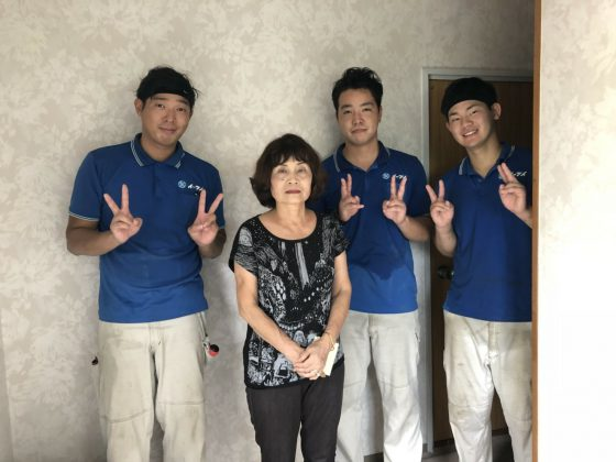 2018年9月22日大阪府狭山市のお客様よりタンスや冷蔵庫等の大型家具の処分で弊社をご利用頂きました。写真1