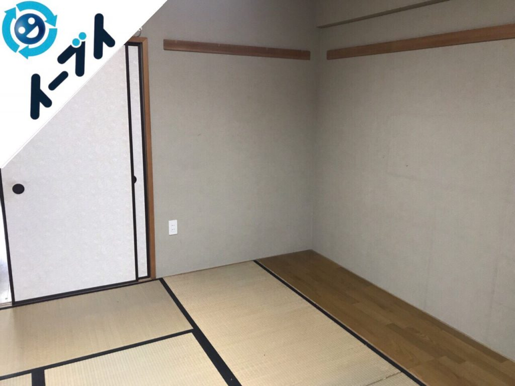 2018年10月24日大阪府和泉市で衣裳ケースや布団など大掃除に伴う不用品回収をしました。写真2