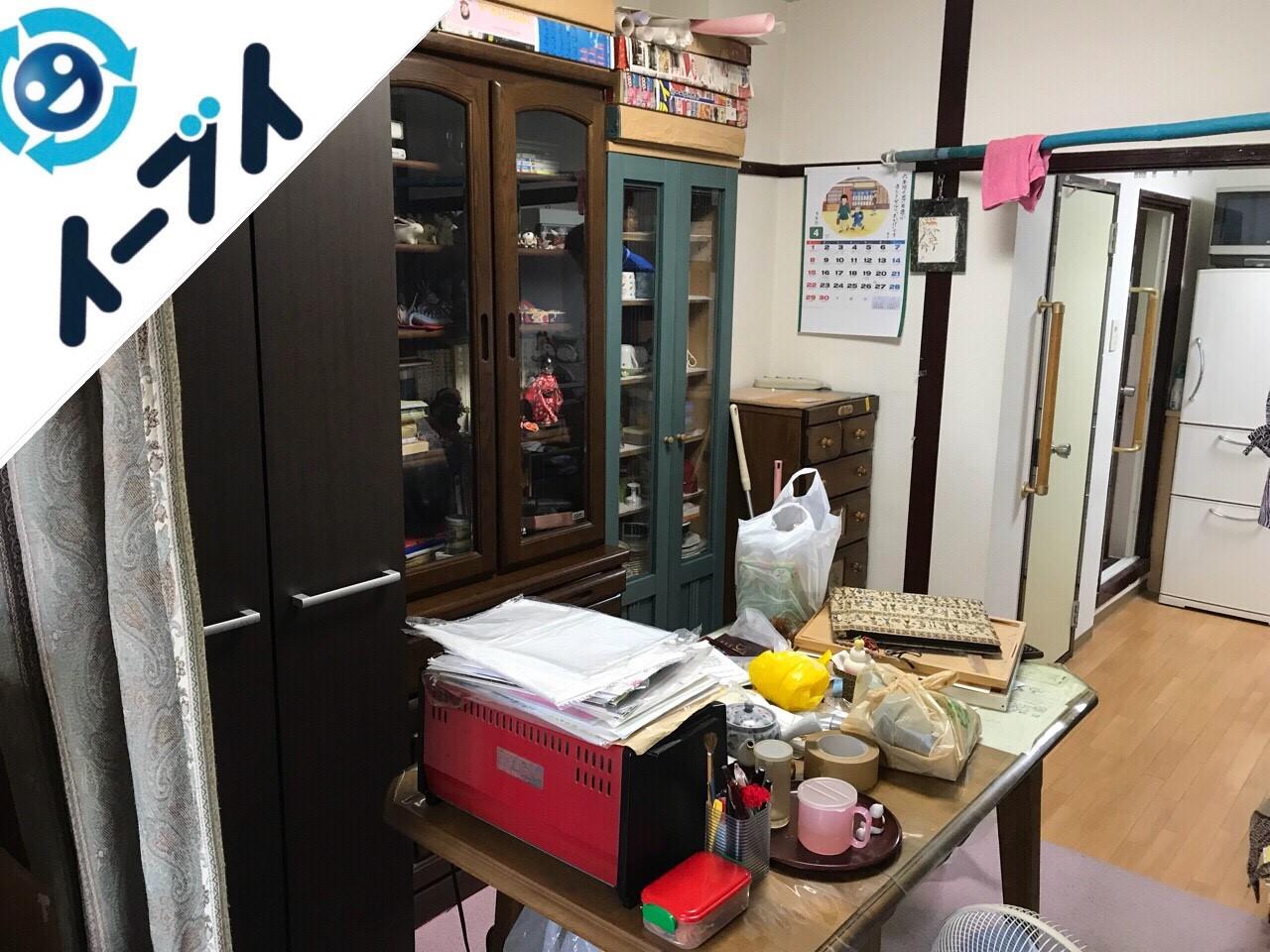 2018年10月21日大阪府大阪市平野区で介護施設入所のため荷物の片付けと不用品回収。写真3