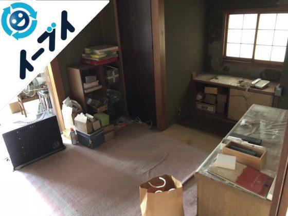 2018年11月4日大阪府大阪市東淀川区でオーディオラックなど粗大ゴミの不用品回収をしました。写真4